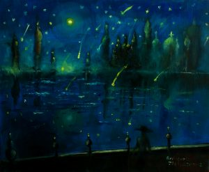 Name: Fallen stars Size: 35 27 x 2 cm