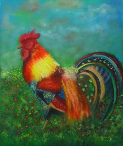 Name: Rooster Size: 70 x 60 x 2 cm