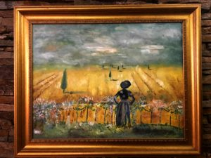 SOLD Rural view Size: 60 x 50 x 2