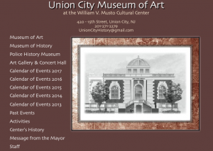 Union City Museum exhibiting