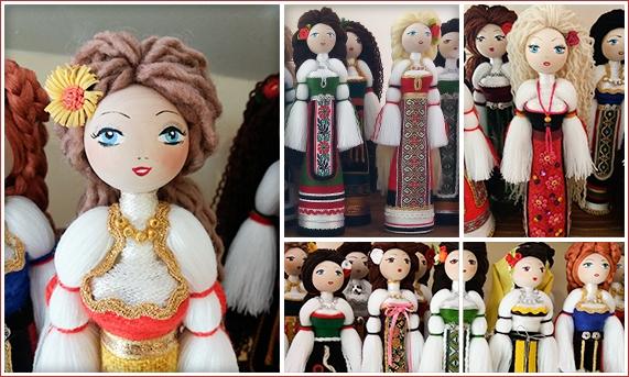 Оля Ангелова Лилова - Варна / Битови кукли, сувенири