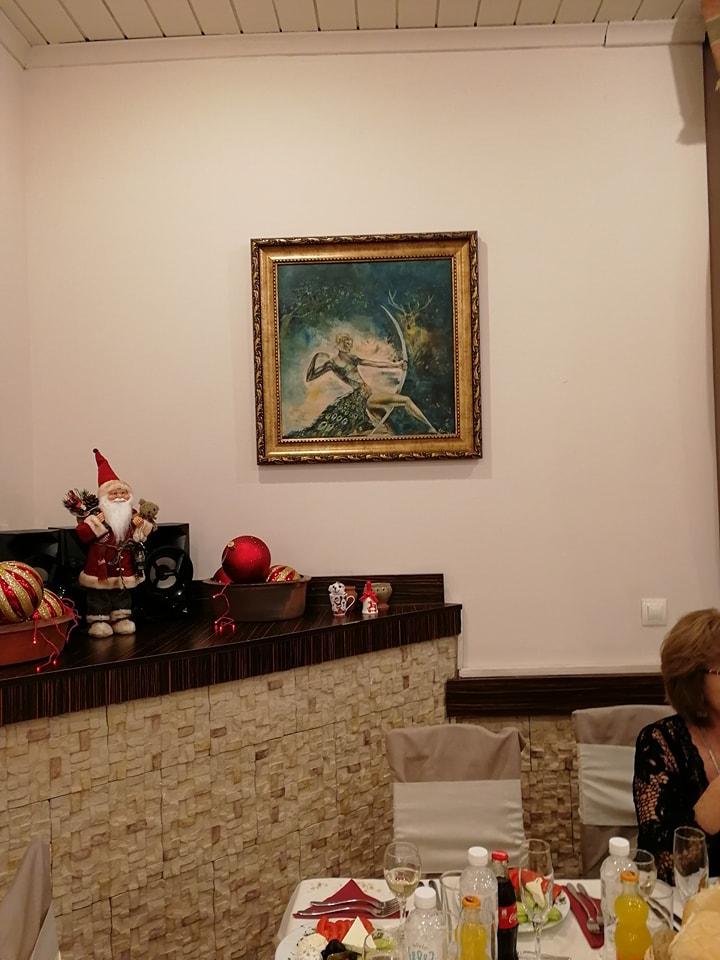 """Дияна, богинята на лова в хотел """"Мура"""" - Боровец"""