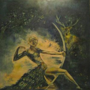 """Diana, Goddess of hunting"""
