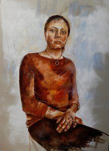 Portrait of Mrs Stefanova