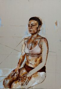 Portrait of Tamara
