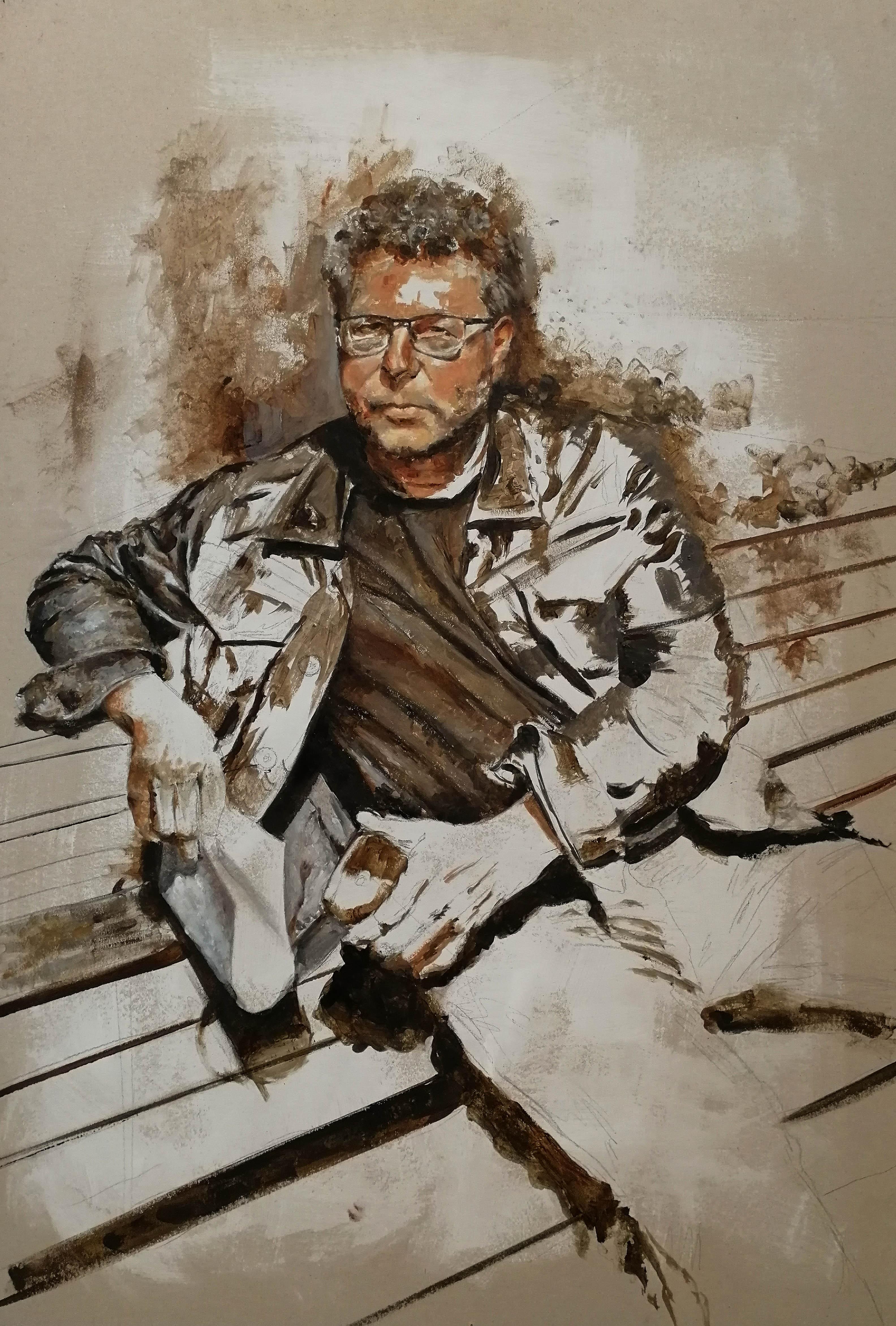 Portrait of Prof. Benchev