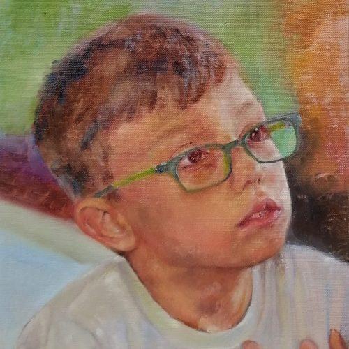 Portrait of my kid - Krisi